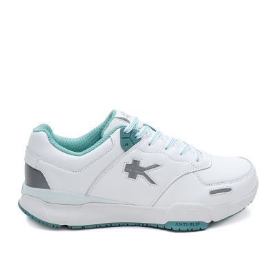 Kinetic Wide - Bright White & Teal Mist - 10.5