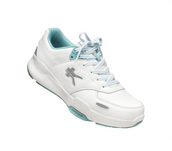 Kinetic Wide - Bright White & Teal Mist - 5.5