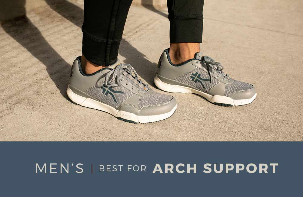 Category Banner - Men's Arch Support