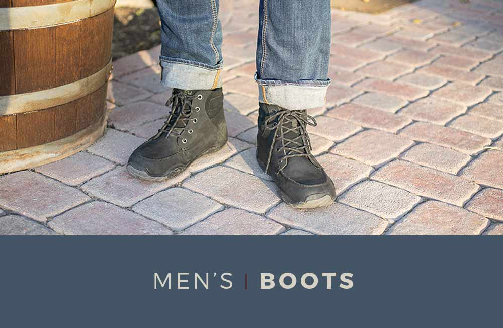 Category Banner - Men's Boots