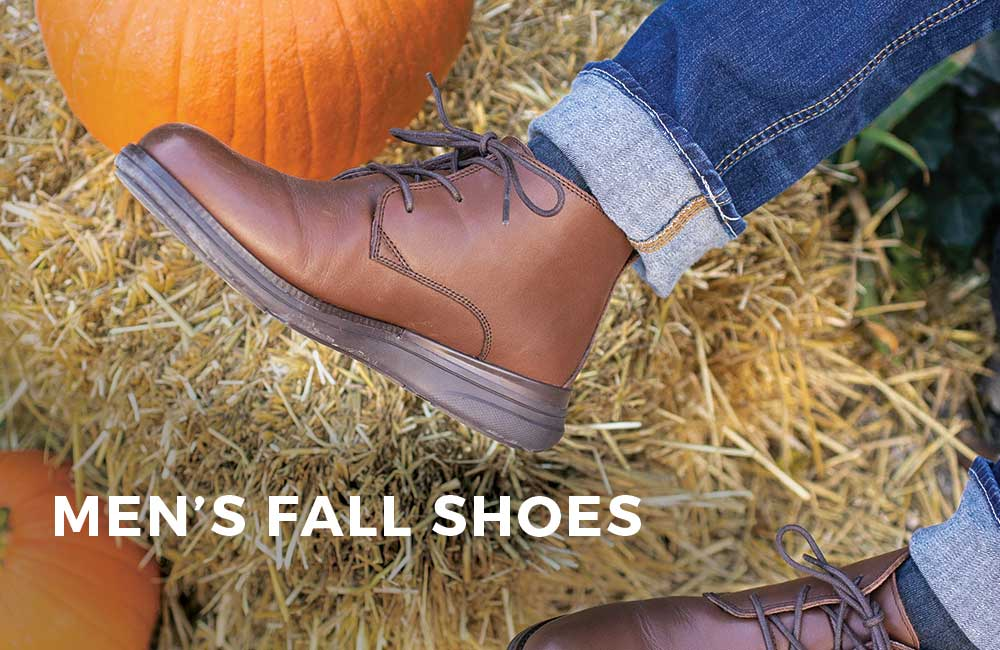 Category Banner - Men's Fall Footwear
