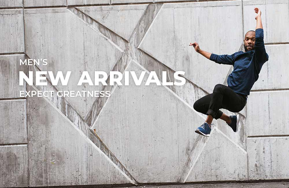 Category Banner - Men's New Arrivals