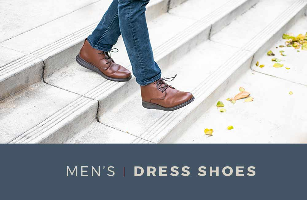 Category Banner - Men's Dress Shoes