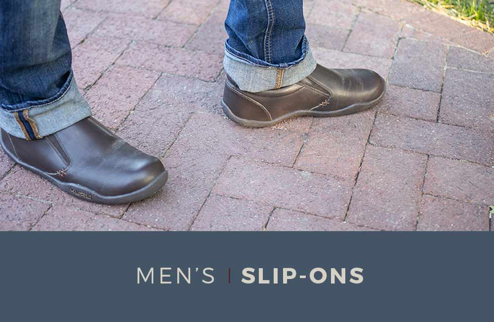 Category Banner - Men's Slip-On Shoes