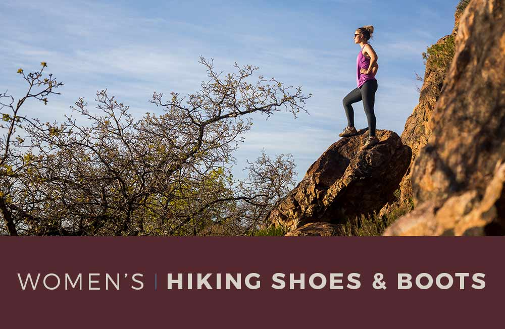 Category Banner Women's Hiking Shoes and Boots