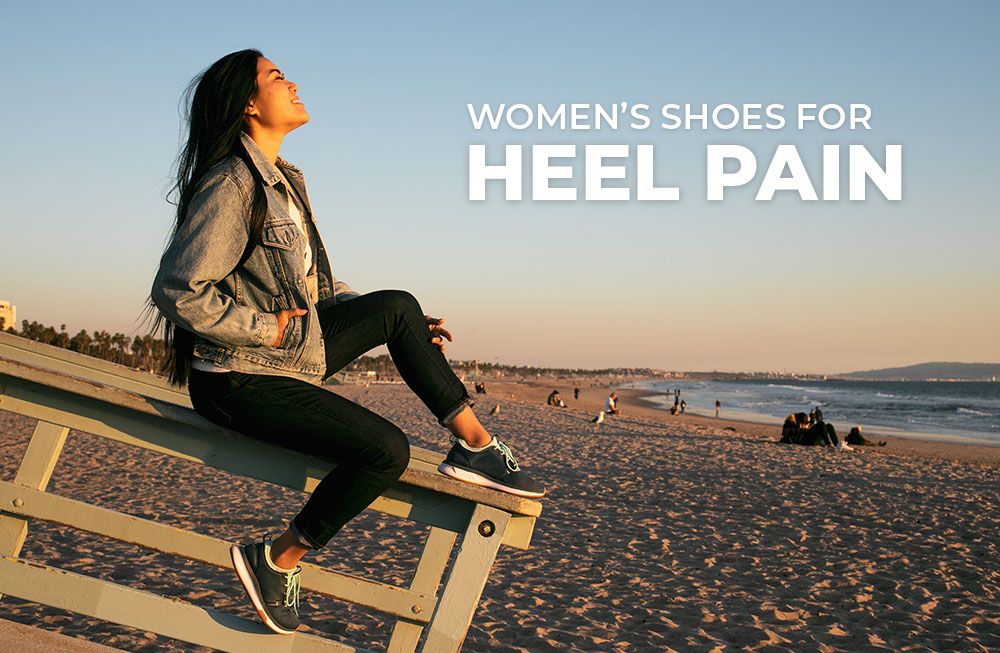 Category Banner - Women's Shoes For Heel Pain