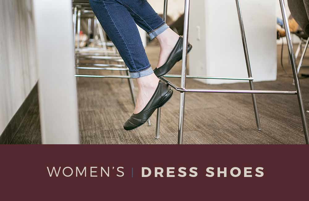 Category Banner - Women's Dress Shoes & Flats