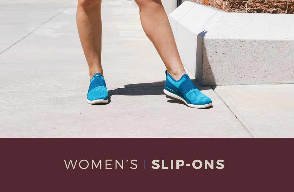 Category Banner- Women's Slip-On Shoes