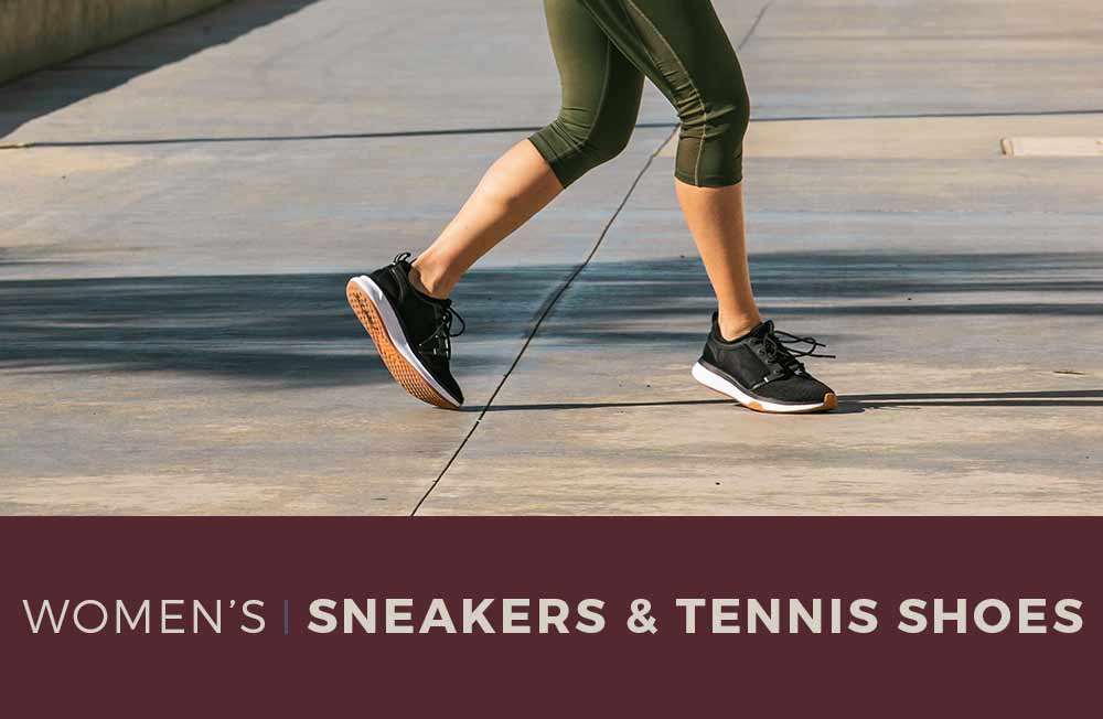 Category Banner - Women's Sneakers & Tennis Shoes
